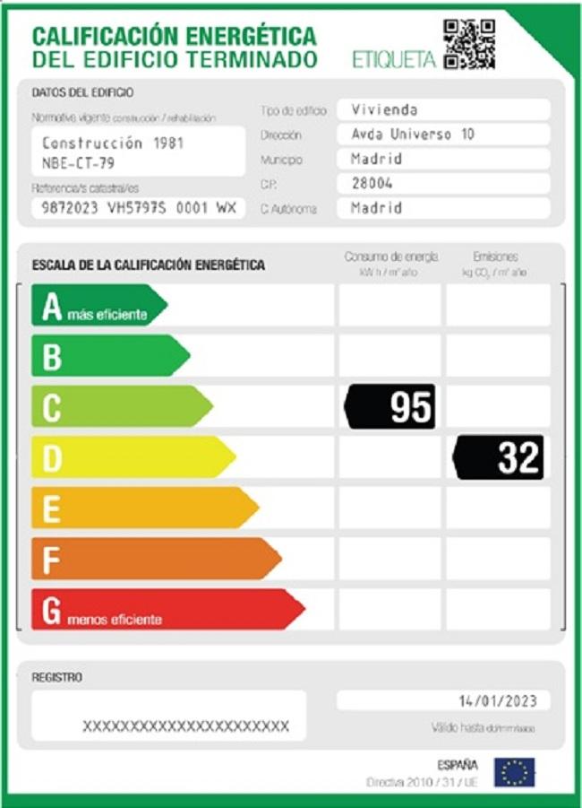 38 c energetic 40 cedula 200 ite for Cedula de habitabilidad precio